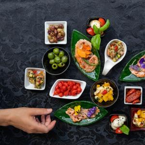 Auswahl an Fingerfood Edda Schmidt Catering Leipzig Fingerfood