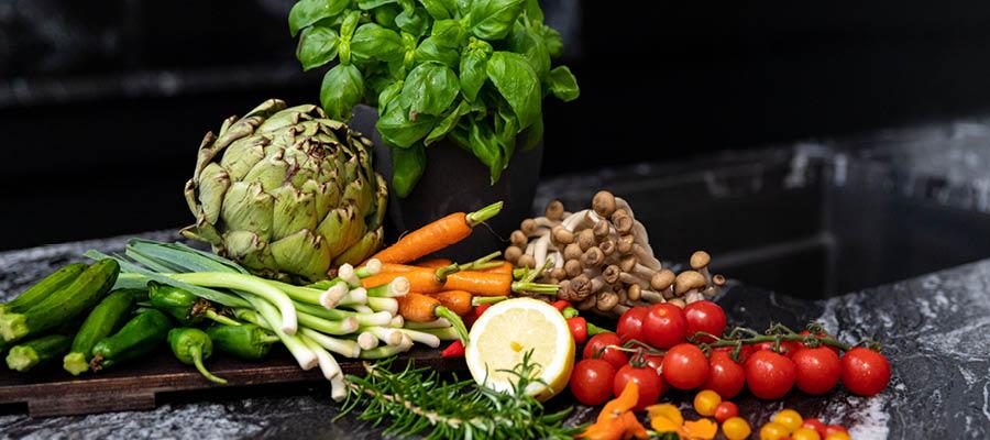 frisches Gemüse Edda Schmidt Catering Leipzig Fingerfood